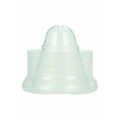 Guaina di ricambio per pompa per il pene fino a 7,5 cm diametro trasparente