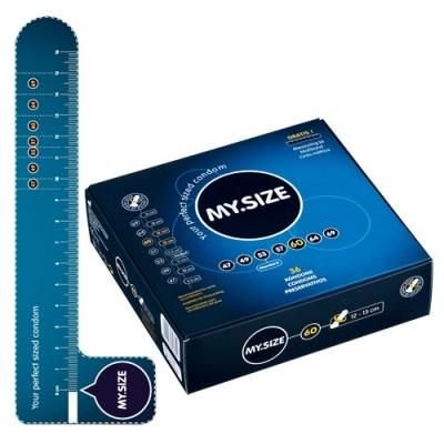 MY SIZE - preservativi grandi 60 mm nominali - 36 pezzi - made in Germany