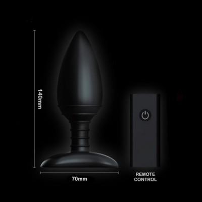 Nexus - Ace Plug M in silicone vibrante ricaricabile e con telecomando wireless12 cm X 4 cm