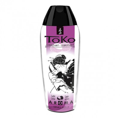 Lubrificante a base acquosa Shunga Toko Aroma gusto LITCHEE 165 ml