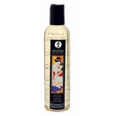Olio massaggi Shunga ROMANCE fragranza fragola e champagne 240 ML