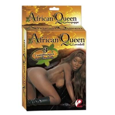 bambola gonfiabile mulatta African Queen Lovedoll 160 cm
