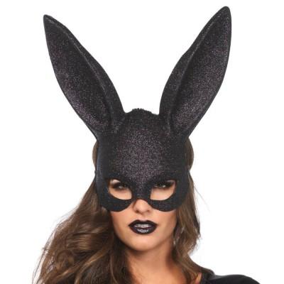 Maschera Coniglietta con Brillantini