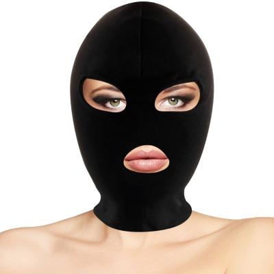 Maschera in Stoffa con Apertura Occhi e Bocca