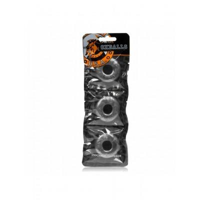 Oxballs  Ringer Cock Ring 3-Pack Steel