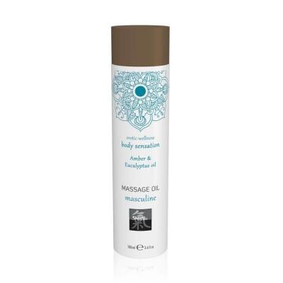 Masculine Olio Massaggi Corpo Amber Eucalyptus 100 ml